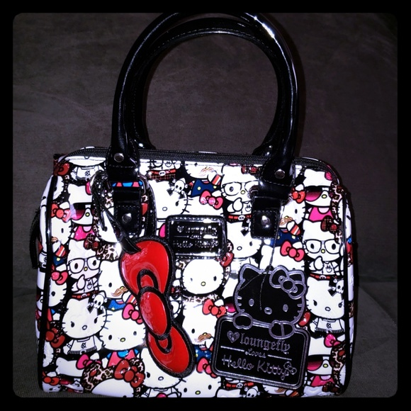 86f0bf1b6 Hello Kitty Other | Nwt Loves Loungefly Handbag Bag Purse | Poshmark